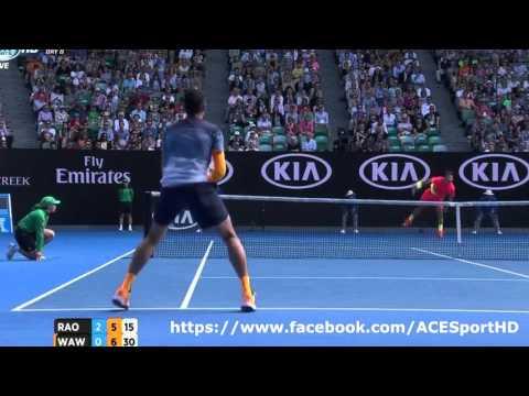 Wawrinka vs Raonic Australian Open 2016