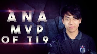 OG.ana Carry MVP of TI9 THE INTERNATIONAL - Dota 2