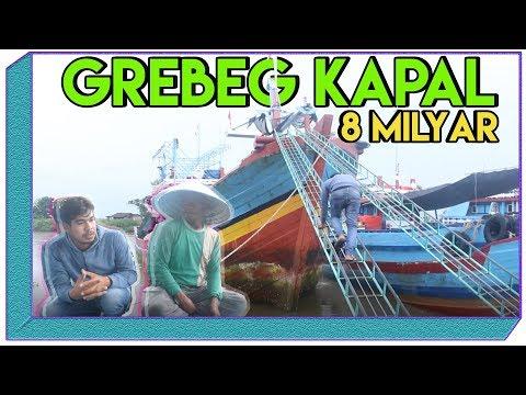 GREBEG!! KAPAL IKAN TRADISIONAL INDONESIA  SEHARGA 8 MILYAR (Traditional Fishing Boat Indonesian)