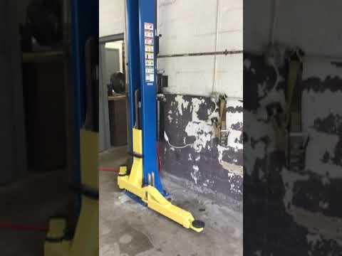 2 POST AUTO, CAR & TRUCK LIFT installed in Massachusetts on 8-17-2018