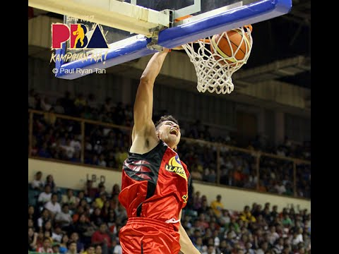 Marc Pingris Best SLAM DUNKS