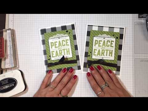 Stampin' Up! 2017 Christmas Card Idea Video Tutorial -2
