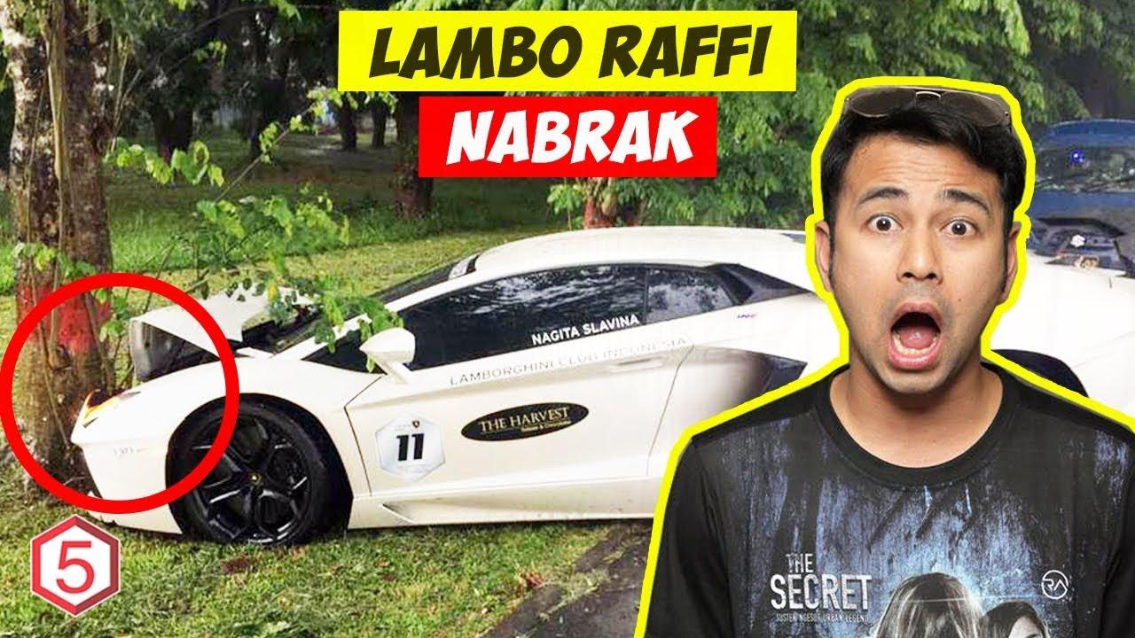 Karna Kecelakaan Hebat Lamborghini Raffi Ahmad Seharga 13 Miliar Ringsek Youtube