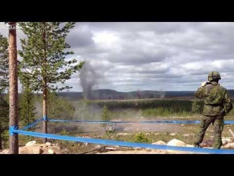 Finnish artillery   800 rounds on target