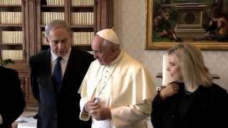PM Netanyahu Meets Pope Francis at the Vatican