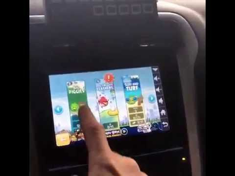 waze on oem ford sync screen youtube. Black Bedroom Furniture Sets. Home Design Ideas