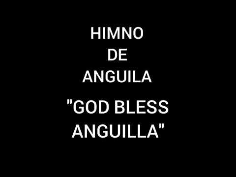 """Himno Nacional de Anguila """"God Bless Anguilla"""""""