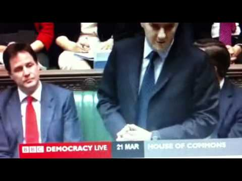 George Osborne on Brown Economics - Budget 2012
