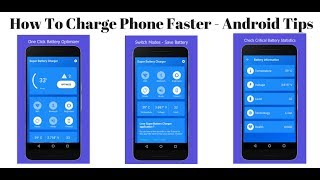 How To Charge Phone Fast - Android Tips