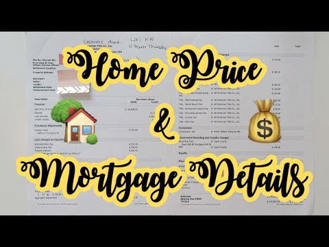 Home Price & Mortgage Details
