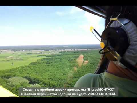 Полёты на малой высоте ЯК - 18Т
