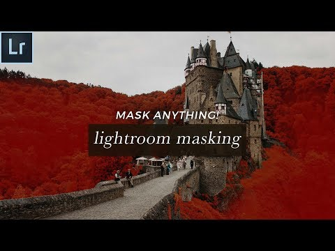 Auto Mask Lightroom Tutorial - How To Mask Anything FAST!