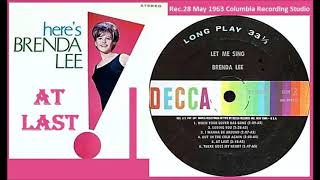 Brenda Lee - At Last Vinyl YouTube Videos