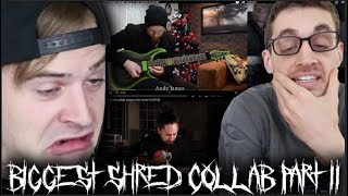 Hip-Hop Head Reacts to 'the biggest shred collab song in the world II (2018)'