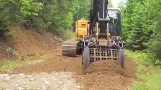 Multi-Function Excavator Attachment XHand - Road Building