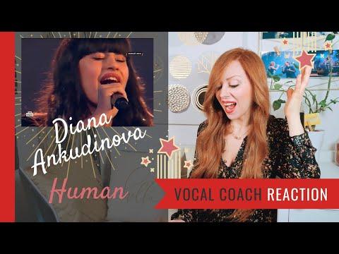 Диана Анкудинова Human/ Диана Анкудинова/Vocalist Reaction - Diana Ankudinova Human Reaction