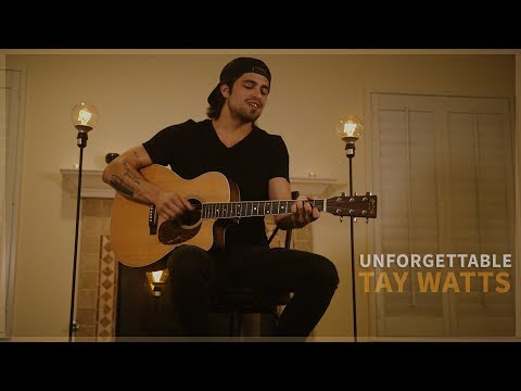 Unforgettable - Thomas Rhett ( Acoustic Music  by Tay Watts) - On Spotify & iTunes