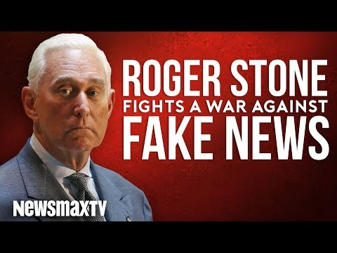 "Roger Stone Fights a ""War of Fake News"""