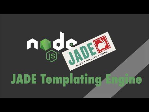 Node.js + Express - Tutorial - PugJS Templating Engine (formerly JADE)