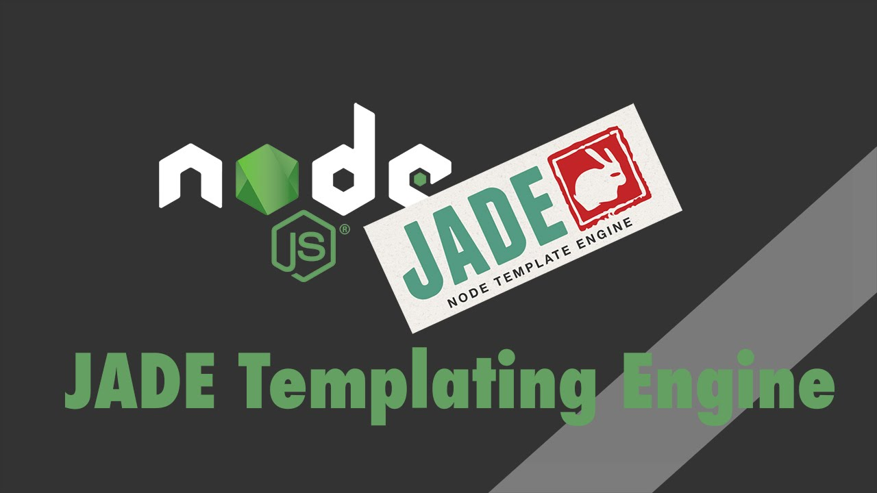 Node.js + Express - Tutorial - PugJS Templating Engine (formerly JADE)