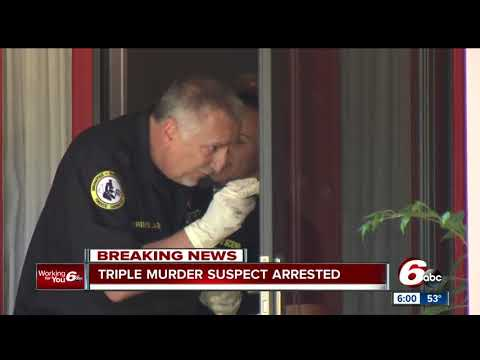 Triple murder suspect arrested
