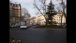 パリ・ブーローニュの街並みBoulogne - Pont de Saint-Cloud駅 (No.15)