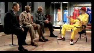 Ali G with the NBA