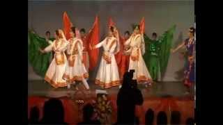 dance on vande mataram ( patriotic )