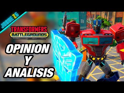 """Nuevo Juego: """"Transformers Battlegrounds"""" - Opinión y Análisis"""