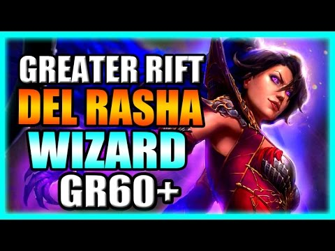 Wizard Diablo  Greater Rift Build