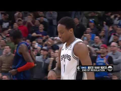 Oklahoma City Thunder vs San Antonio Spurs | January 10, 2019