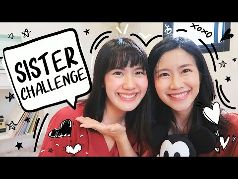 Sister Challenge เอาดีๆ พี่หรือแฝด? | MayyR - วันที่ 08 Jan 2020