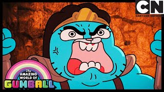 Nicole's Epic Barbarian Rage | The Master | Gumball | Cartoon Network