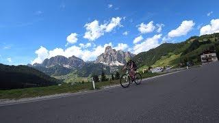 Sella Ronda Part 3 Pordoijoch Indoor Cycle Training Workout Ultra HD Video