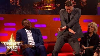 Channing Tatum Teaches Usain Bolt a New Dance Move | The Graham Norton Show
