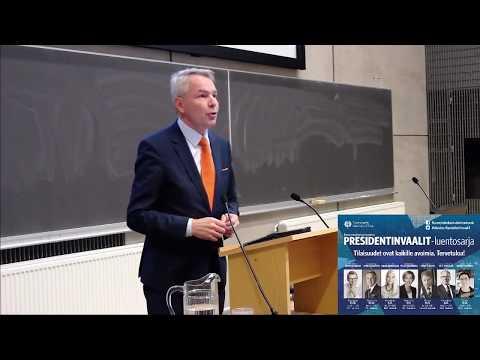 UTULive: Pekka Haavisto Eduskuntatutkimuksen keskuksen presidentinvaalit -luentosarjassa
