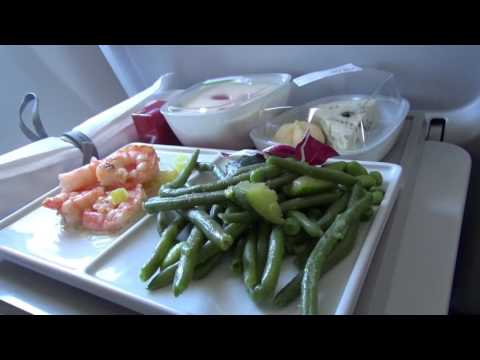 Air France Airbus A319 Business Class from Paris to Amsterdam Flight Experience