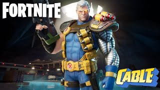 Fortnite Cable Skin Gameplay