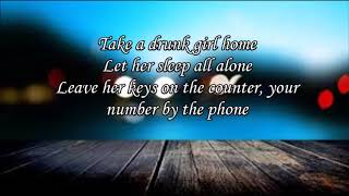 Drunk Girl by Chris Janson lyrics Video