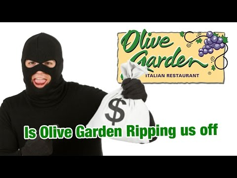 Is Olive Garden Ripping Us Off – PLAYING WITH YOUR FOOD