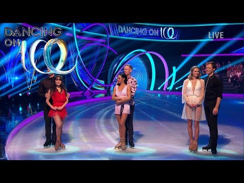 Who Will Survive the First Double Elimination? | Dancing On Ice 2018
