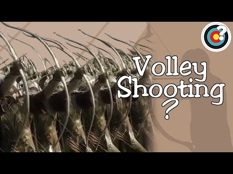 Did Archers Shoot In Volleys?