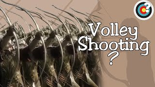 Archery Tropes | Did Archers Shoot in Volleys?