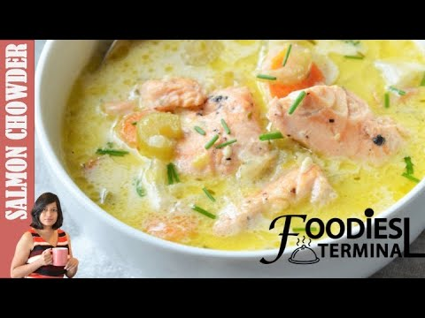 Salmon Chowder Soup