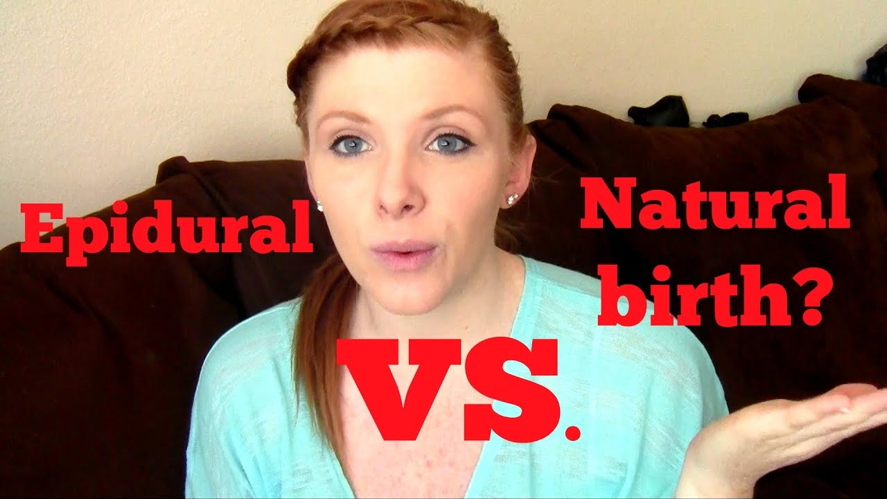 a comparison of natural birth and the use of epidural With ds it was all natural and i didn't even feel the need to ask for an epidural it was wonderful , whereas dd's birth was chaotic the difference is about feeling in control.