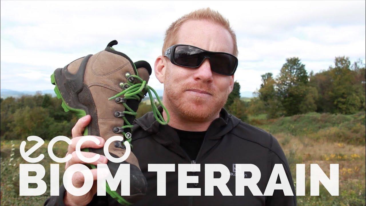 ECCO Ulterra GTX Mid Cut Boot - YouTube