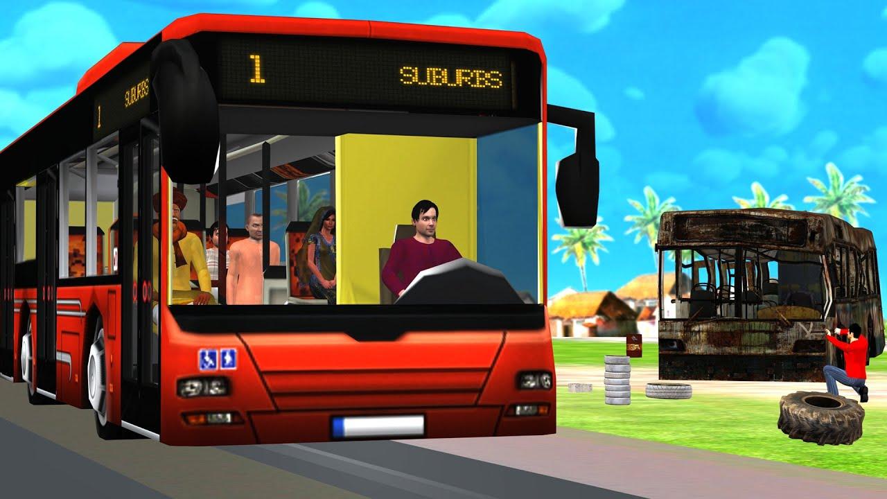 पुरानी डीजल बस मरम्मत Old Diesel Bus Restoration Hindi Kahaniya New हिंदी कहानियां Hindi Kahaniyan