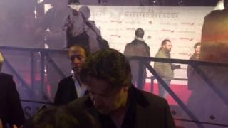 Russel Crowe en la premiere de Madrid de El maestro del agua (The water diviner).