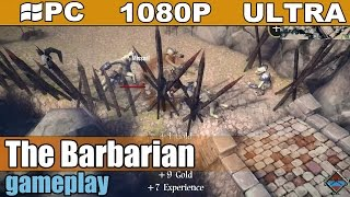 The Barbarian gameplay HD [PC - 1080p] - Action Adventure Game