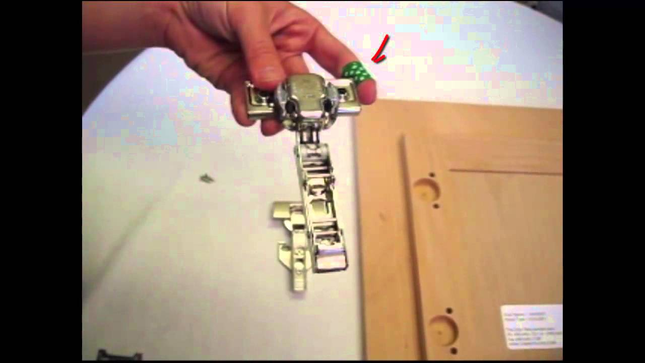 How To Install Blum Hinges Hang Your New Cabinet Doors Part 1
